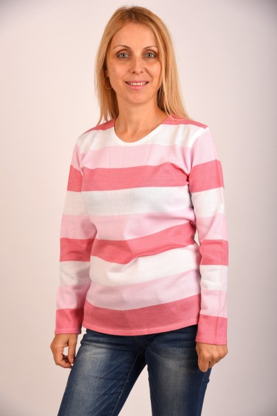 Розова блуза