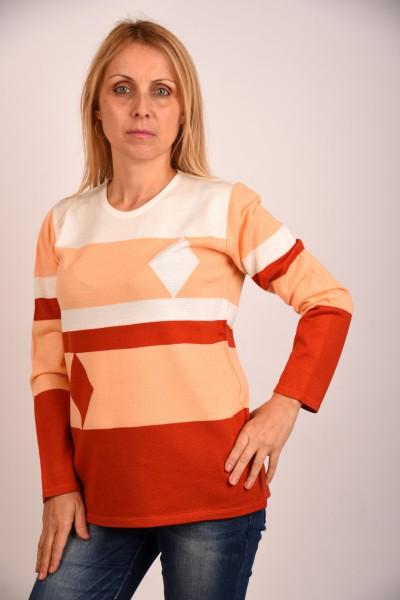 Плетена блуза Ромб