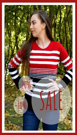 Разпродажба на плетени дамски дрехи